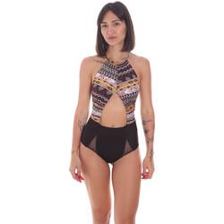 Kleidung Damen Badeanzug Me Fui M20-0005X1 Schwarz