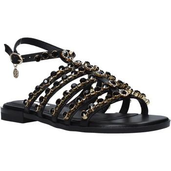 Schuhe Damen Sandalen / Sandaletten Gold&gold A21 GJ565 Schwarz