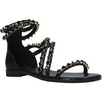 Schuhe Damen Sandalen / Sandaletten Gold&gold A21 GJ566 Schwarz