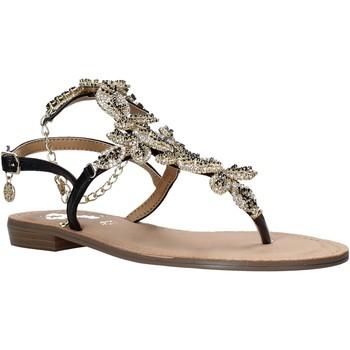 Schuhe Damen Sandalen / Sandaletten Gold&gold A21 GL621 Schwarz