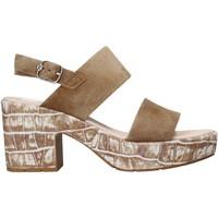 Schuhe Damen Sandalen / Sandaletten CallagHan 28801 Braun