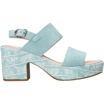 Schuhe Damen Sandalen / Sandaletten CallagHan 28801 Grün