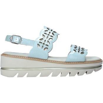 Schuhe Damen Sandalen / Sandaletten CallagHan 22720 Grün