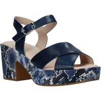 Schuhe Damen Sandalen / Sandaletten CallagHan 28800 Blau