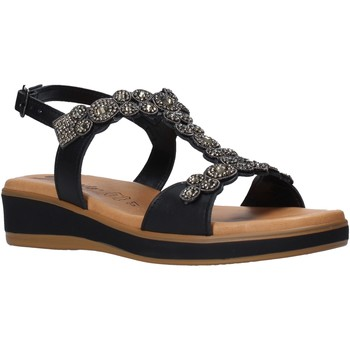 Schuhe Damen Sandalen / Sandaletten Susimoda 2048 Schwarz