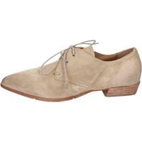 Schuhe Damen Derby-Schuhe Moma BH329 Beige