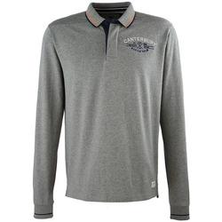 Kleidung Herren Langärmelige Polohemden Canterbury E53OC05 Grau