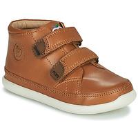 Schuhe Kinder Sneaker High Shoo Pom CUPY SCRATCH Braun
