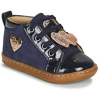 Schuhe Mädchen Sneaker High Shoo Pom BOUBA HEART Blau