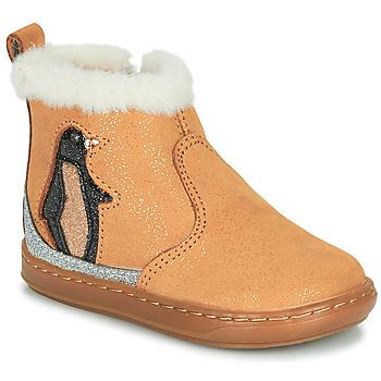 Schuhe Mädchen Boots Shoo Pom BOUBA ICE Braun