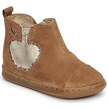 Schuhe Mädchen Boots Shoo Pom BOUBA NEW APPLE Braun