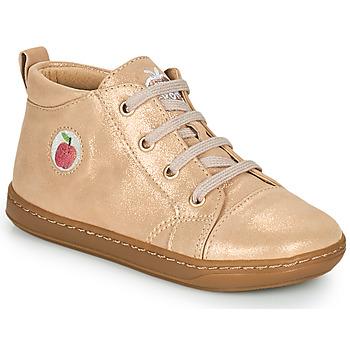 Schuhe Mädchen Sneaker High Shoo Pom BOUBA ZIP LACE Rose