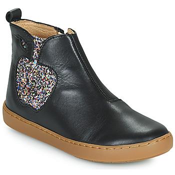 Schuhe Mädchen Boots Shoo Pom PLAY APPLE Schwarz