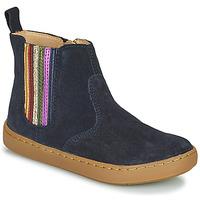 Schuhe Mädchen Boots Shoo Pom PLAY NEW SHINE Blau