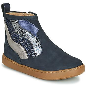 Schuhe Mädchen Boots Shoo Pom PLAY WAVES Blau