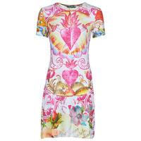 Kleidung Damen Kurze Kleider Desigual TATTO Multicolor