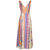 Kleidung Damen Maxikleider Desigual SONIA Multicolor