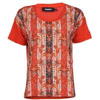 Kleidung Damen T-Shirts Desigual LOMBOK Multicolor