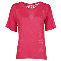 Kleidung Damen T-Shirts Desigual CLEMENTINE Rot