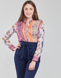 Kleidung Damen Langarmshirts Desigual BOHO Multicolor