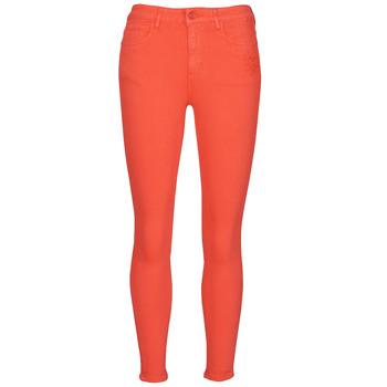 Kleidung Damen 5-Pocket-Hosen Desigual ALBA Rot
