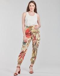 Kleidung Damen Fließende Hosen/ Haremshosen Desigual TOUCHE Multicolor