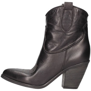 Schuhe Damen Low Boots Zoe Florida01 Camperos Frau Schwarz Schwarz