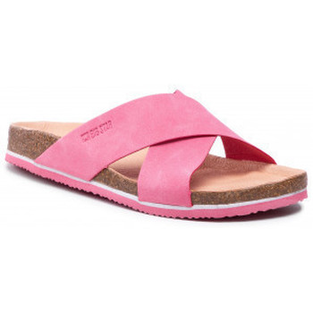Schuhe Damen Pantoffel Big Star HH274597 Rosa