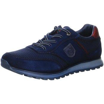 Schuhe Herren Sneaker Low Bugatti Schnuerschuhe A4D01 322A4D011469-4041 blau