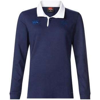 Kleidung Damen Langärmelige Polohemden Canterbury E64CJ01 Blau