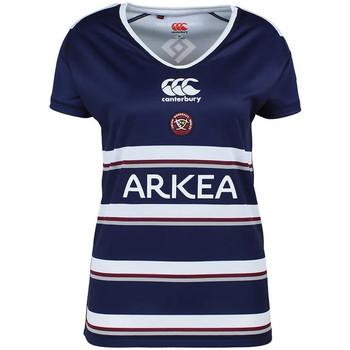 Kleidung Damen T-Shirts Canterbury E64RE01 Blau