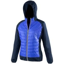 Kleidung Damen Daunenjacken Spiro S268F Blau