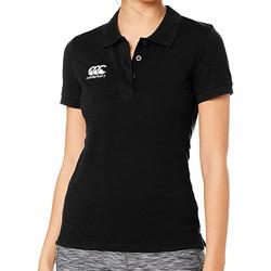 Kleidung Damen Polohemden Canterbury E633803 Schwarz