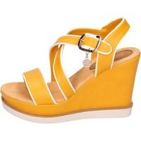 Schuhe Damen Sandalen / Sandaletten Enrico Coveri BH347 Gelb