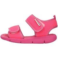 Schuhe Mädchen Sandalen / Sandaletten Superga S63S825 FUCHSIE
