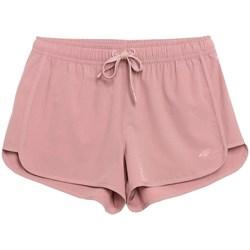 Kleidung Damen Shorts / Bermudas 4F SKDT001 Rosa