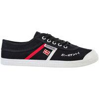 Schuhe Herren Sneaker Low Kawasaki FOOTWEAR - Signature canvas shoe - black Schwarz