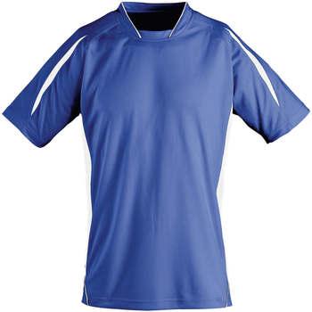 Kleidung Kinder T-Shirts Sols Maracana - CAMISETA NIÑO MANGA CORTA Azul