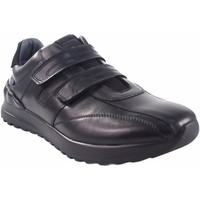 Schuhe Herren Multisportschuhe Baerchi 4142 schwarz Schwarz