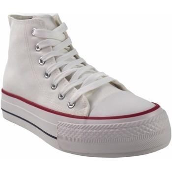 Schuhe Herren Multisportschuhe Bienve Canvas Gentleman  2065b weiß Weiss