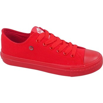Schuhe Damen Sneaker Low Lee Cooper LCWL2031046 Rot