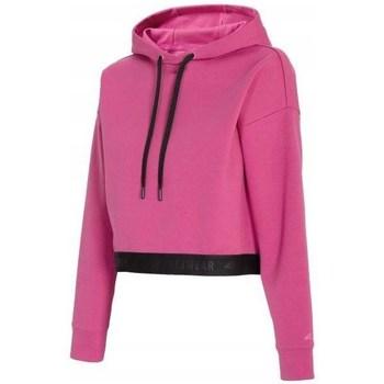 Kleidung Damen Sweatshirts 4F BLD011 Rosa