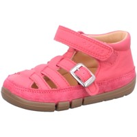 Schuhe Mädchen Sandalen / Sandaletten Superfit Maedchen Stiefelette Leder \ FLEXY 1-006333-5500 pink