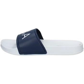Schuhe Herren Pantoletten Baci & Abbracci 12001 BLAU