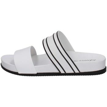 Schuhe Damen Pantoffel De Fonseca SAVONA C W58 WEISS