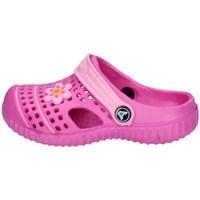 Schuhe Jungen Pantoletten / Clogs Allseason 03159Q FUCHSIE