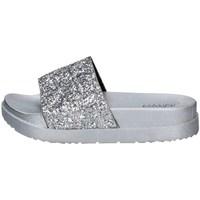 Schuhe Damen Pantoletten De Fonseca ALASSIO E W770 SILBER