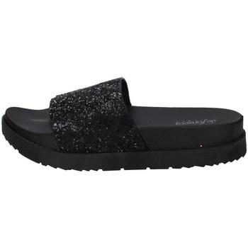 Schuhe Damen Pantoletten De Fonseca ALASSIO E W770 SCHWARZ