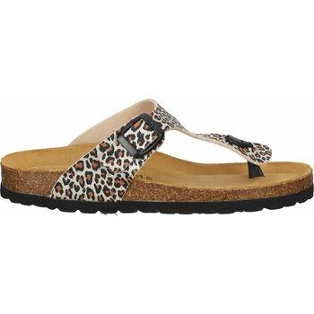 Schuhe Damen Zehensandalen Cosmos Comfort Pantoletten Beige