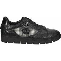 Schuhe Damen Sneaker Low Bugatti Sneaker Schwarz Kombi